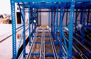 First-In-First-Out Rack Support System